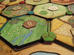 Custom Catan Board by Sharra Culp, via Behance