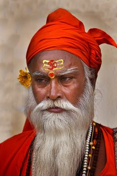 Holy Man in Jodphur, India