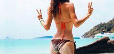 Cviky na doma pro dokonalý zadek! Bikinis, Swimwear, Thong Bikini, Get Skinny, Bra, Arm, Lasagna, Bikini Swimsuit, Swimsuit