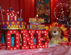 Amelia's Circus Party  - Circus / Carnival