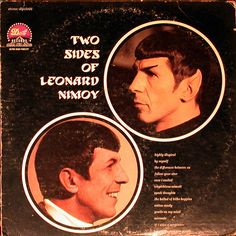 leonard nimoy - two sides of | Flickr - Photo Sharing!
