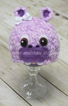 RTS... Lil Hippo Newborn photography prop by ModisteBee on Etsy, $45.00