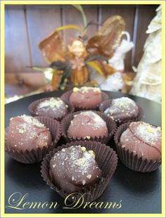 Purple Chocolat Home: Lemon Dream Chocolates - Mrs. Claus Dipping Factory 2012
