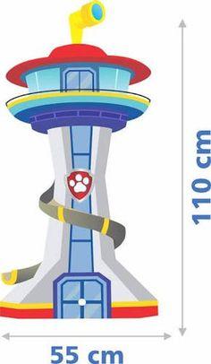 Resultado de imagem para farol patrulha canina Paw Patrol Tower, Paw Patrol Cake, Paw Patrol Party, Ryder Paw Patrol, Paw Patrol Lookout, Imprimibles Paw Patrol, Paw Patrol Birthday Theme, Cumple Paw Patrol, Paw Patrol Invitations