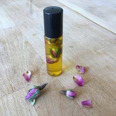 Růžový květinový set - parfém a vonný olej pro maminku či jinou blízkou ženu - Kosmetika hrou Homemade, Blog, Home Made, Blogging, Hand Made