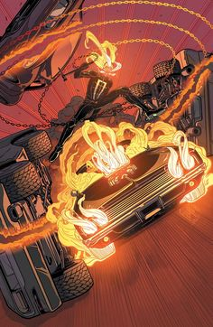 ALL-NEW GHOST RIDER's Last Ride Is 'Trial By Hellfire' | Newsarama.com