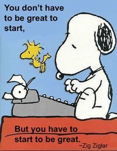 Snoopy knows how it is!