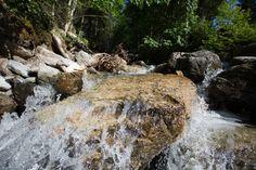 """Erfrischender Bergquell - entlang des Themenweges 'Wasser beWegt"""" #visitflachau #wasser Salzburg, Tourism, Friends, Water, Summer"""