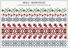 Romanian traditional motifs - OLTENIA - Semne Cusute