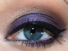 Look of the Day: Candied Violet (Too Faced Chocolate Bar Palette):