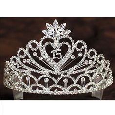 Heart Quinceanera Tiara by Angels Garment