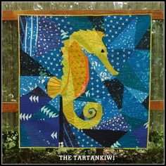 Treasure of the Sea mini quilt | The Tartankiwi.  Fabric by Alison Glass.