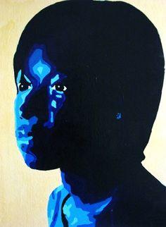 Monochromatic Self Portrait - Artsonia Lesson Plan