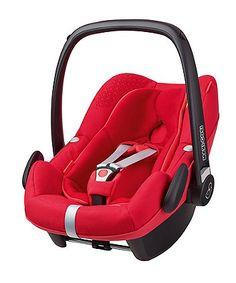 Maxi-Cosi Pebble Plus (i-Size) Baby Car Seat - Origami Red