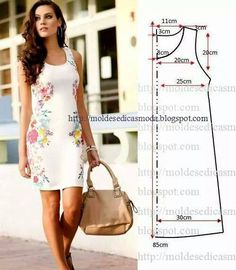 We have a ton of printable sewing patterns and we promise to keep adding more! 45 Free Printable Sewing Patterns is sure to hold your next project. Fashion Templates to make an easy-sew dress Ropa veraniega: ideas y patrones El patrón del vestido veranie Free Printable Sewing Patterns, Dress Sewing Patterns, Clothing Patterns, Free Sewing, Simple Sewing Patterns, Sewing Ideas, Sewing Projects, Easy Patterns, Loom Patterns