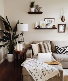 A living room is the central point of your home that needs a nice design.with these wall decor ideas for your living room, enhance the mood of your home. Home Living Room, Apartment Living, Living Room Designs, Cozy Apartment, Dream Apartment, Living Room Corner Decor, Apartment Ideas, Apartment Makeover, Living Room Decor Ideas Grey