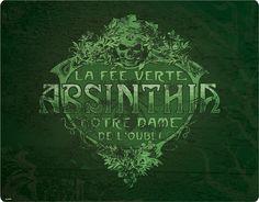 Absinthians - La Fee Verte Infinity Case for Apple iPhone 4/4S