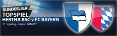 #Bundesliga - der 21. Spieltag. Alle Spitzenmannschaften, einschließlich des Tabellensiebten Köln, haben ihre letzten Liga-Spiele verloren. Dadurch konnte das Mittelfeld mit Freiburg, Leverkusen, Gladbach, Schalke und Mainz, die ihre Partien gewannen, den Abstand zu den internationalen Rängen verringern. Das Topspiel dieses Spieltags lautet Hertha BSC v Bayern München. Unsere Vorschau zum 21. Spieltag: MeinOnlineWettanbieter.com