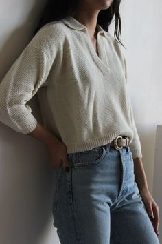 First Rite Seed Stich Henley on Garmentory Oufits Casual, Casual Outfits, Cute Outfits, Artsy Outfits, Indie Outfits, Layering Outfits, Unique Outfits, Vintage Style Outfits, Simple Outfits