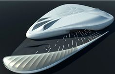 Hadid, Zaha: Mobile Art, New York, USA, Paris, France