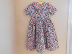 Size 4  5 Vintage Sara Louise England Girl Flower by LittleMarin