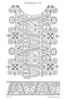 Hand Embroidery Designs, Embroidery Patterns, Pakistani Dress Design, Fabric Design, Folk Art, Coloring Pages, Sketches, Tapestry, Stitch