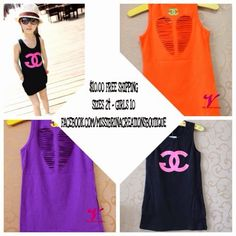 Great Accessories blog: Girls cut out tank top sizes 2 t - girls 10