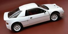 1984 Ford RS200. Ford took the same general idea behind the Lancia Stratos–that a small, mid-engined car makes good r... - Ford
