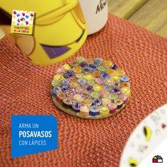 Posavasos divertidos y creativos #Sodimac #Homecenter #Peru #juego #juguete #imaginación #balsa #ManosAlaObra #ManitosAlaObra