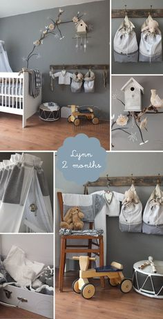 romantic baby girl's nursery
