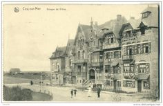 COQ-sur-MER Groupe De Villas 1917 FELDPOST  Written In German - De Haan