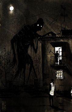 "Visual Necromancy: The Amazing Art By Boris Groh ""Visual Necromancy"": The Amazing Art By Boris Groh Creepy Drawings, Dark Art Drawings, Dark Artwork, Creepy Images, Creepy Pictures, Arte Horror, Horror Art, Illustration Photo, Dark Art Illustrations"
