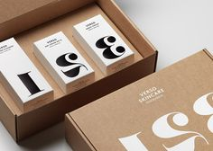 Visual identity and packaging for Verso Skincare designed by The Studio.