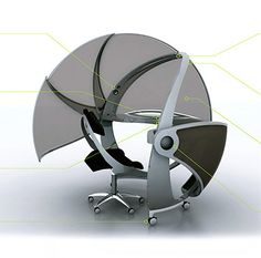 Office pods | VIDEO: Futuristic Office Pod Maintains Your Privacy - TechEBlog