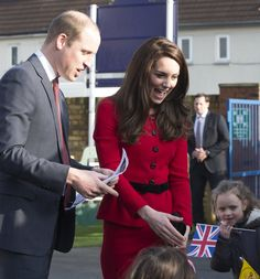 Prince William and Kate Middleton Have a Fun-Filled Day With School Children in London