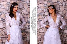 "Project: ""fairy bride"" Photo:B Tóth Eszter Vanda by Designtrust Photography Make-up:Kirs Vali by Designtrust make-up school Hair:La Perla Hairdressing by Marton Leontina Jewellery:Czok Ildi designer jewellery Dress: Wedding Dream Model: Cintia Orvendi"