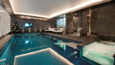 Swimming Pools for Sale | ... , swimming pool and spa put up for sale for £40million | Mail Online