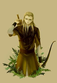 Legolas would love to draw