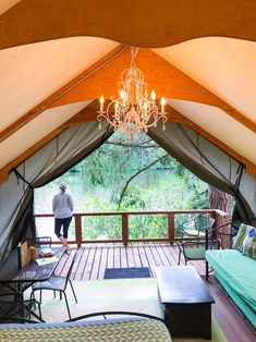 Lodges with Northwest Style - clamping at Lakedale resort in western Washington San Juan islands What Is Glamping, Go Glamping, Camping, Washington Things To Do, Lopez Island, Orcas Island, San Juan Islands, Oh The Places You'll Go, So Little Time