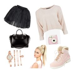 """""""5"""" by luciedupont on Polyvore featuring mode, Olympia Le-Tan, Australia Luxe Collective, Givenchy et Anne Klein"""