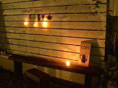 お家カスタマイズとステンシル祭り①枕木で作るベンチ : Camphortreeの日常
