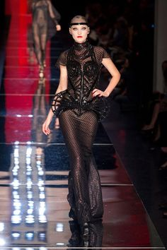 Jean Paul Gaultier Haute Couture Fall 2012 collection.