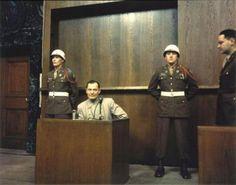 Goering en los Juicios de Nuremberg
