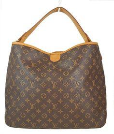 Louis Vuitton Monogram Canvas Delightful MM Hobo Tote Bag