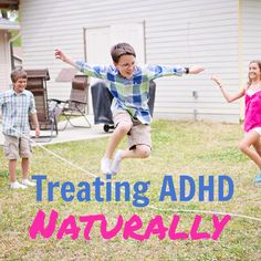 How to treat ADHD naturally with diet and Young Living essential oils.
