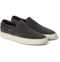 Common Projects - Suede Slip-On Sneakers | MR PORTER