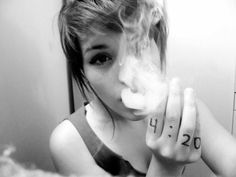 ganja-girls weed smoke 420 hot http://hdweedwallpapers.com/ #weedplant #bud