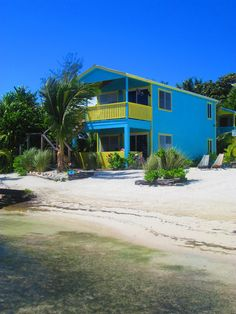 Colinda Cabanas - Caye Caulker - Belize. Our cabana was the lower one.