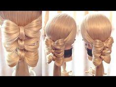 "Коса на резинках - ""Калейдоскоп - сердца"" - 2 - YouTube"