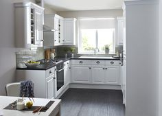 Don't forget the cupboard handles when designing your neutral kitchen. After all, handles can take your design from average to amazing. From antique pewter effect cup handles to unashamedly modern stainless steel handles, the look and feel is most definitely in your hands.